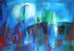 Ryszard MIŁEK ( ur. 1955), Pejzaż niebieski