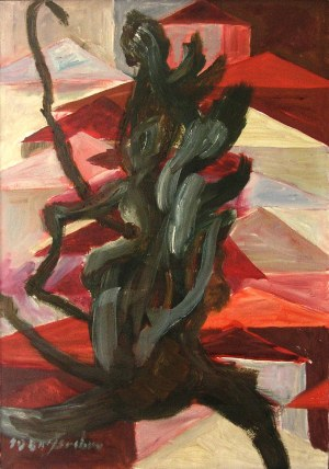 Joanna SREBRO DROBIECKA (1932–2006), Demon II, 1981