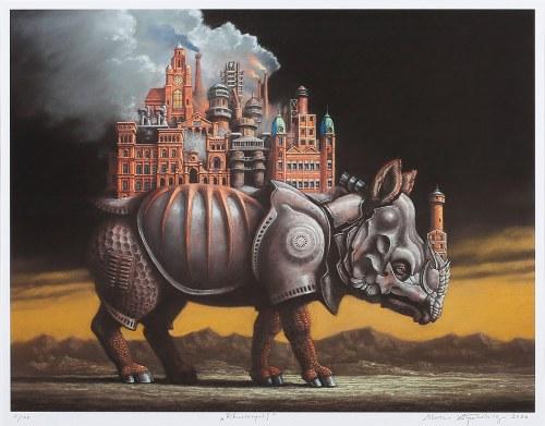 Marcin KOŁPANOWICZ (ur. 1963), Rhinocezopolis, 2020
