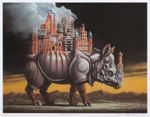 Marcin KOŁPANOWICZ (ur. 1963), Rhinoceropolis, 2020