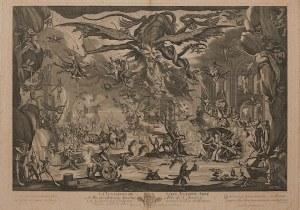 Jacques Callot, Petrus Picault Blesensis, Kuszenie św. Anitoniego, wyd. Paryż, XVIII w.