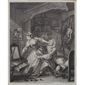 William Hogarth, Before and After, para grafik, Anglia, Londyn, 1736 r.