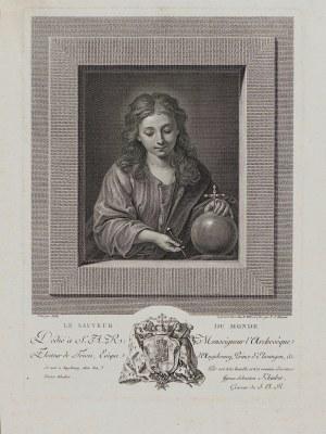 Jacques Stella, J. S. Klauber, Młody Chrystus Zbawiciel, Paryż, 1782 r.