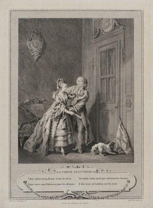 Sigmund Freudenberger, Przyłapany na gorącym uczynku, Paryż, 1774 r.