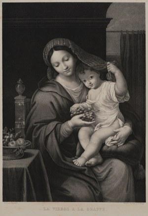 Pierre Mignard, Louis Kramp, Madonna z winogronami, II poł. XIX w.