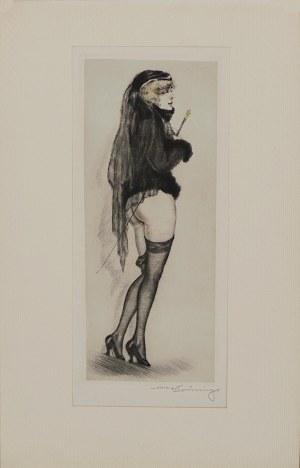 Max Brüning, Smutna wdowa, lata 20. XX w.