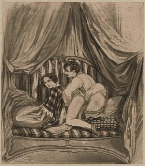 Autor nierozpoznany, Scena łóżkowa, ok. 1900