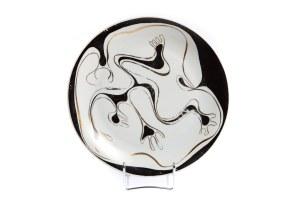 Talerz dekoracyjny - Zakłady Porcelany Stołowej