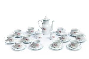 Serwis do kawy na 12 osób - Zakład Porcelany Stołowej