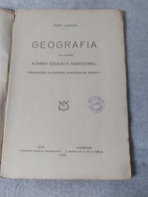 LEWICKI JÓZEF - GEOGRAFIA ZA CZASÓW KOMISYI EDUKACYI NARODOWEJ, PIERWSZEGO W EUROPIE MINISTERYUM OŚWIATY