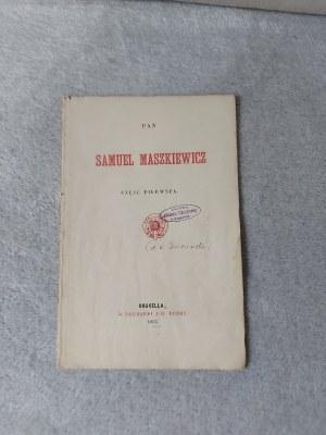 WEHYRA ALEKSANDER - PAN SAMUEL MASZKIEWICZ