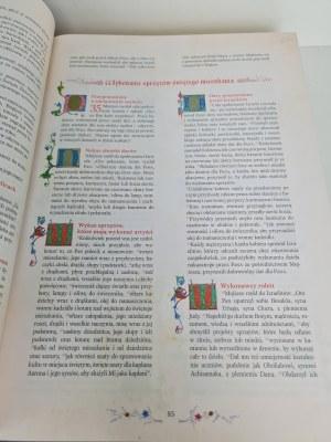 BIBLIA JUBILEUSZOWA zilustrowana miniaturami z Biblii gnieźnieńskiej z roku 1414.