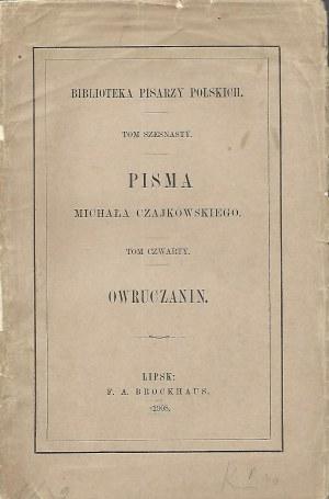 Czajkowski Michał PISMA tom 4 OWRUCZANIN