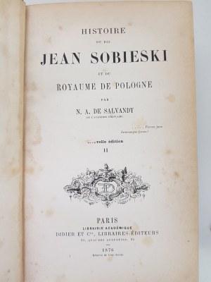 HISTOIRE DU ROI JEAN SOBIESKI ET DU ROYAUME DE POLOGNE