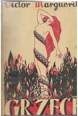 Margueritte Wiktor GRZECH Powieść, wyd.1928