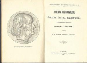 Niemcewicz Julian Ursyn Śpiewy historyczne