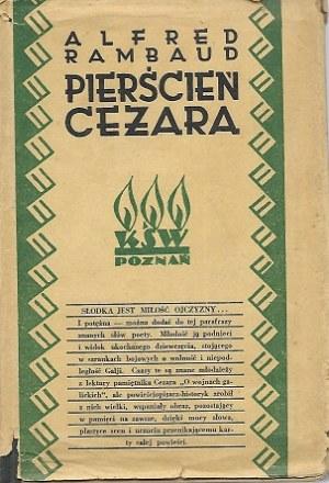 Rambaud Alfred PIERŚCIEŃ CEZARA
