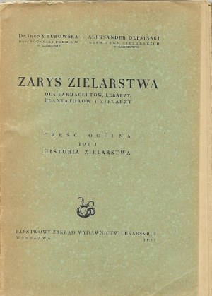 ZARYS ZIELARSTWA HISTORIA ZIELARSTWA
