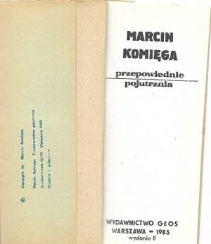 Komięga Marcin PRZEPOWIEDNIA POJUTRZNIA [JERZY FICOWSKI]