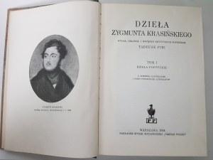 Krasiński Zygmunt DZIEŁA POETYCKIE i LISTY