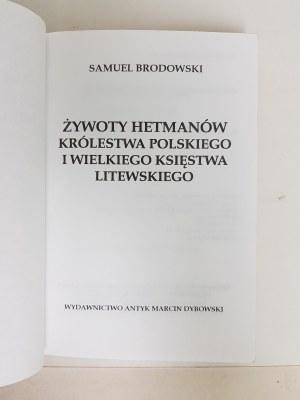 Brodowski Samuel ŻYWOTY HETMANÓW