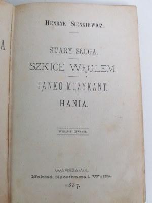 Sienkiewicz Henryk PISMA Wyd.1887