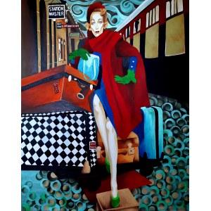 Anna Wiencek, Marlene Dietrich ,2021