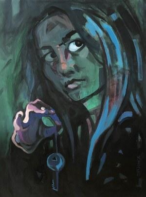 Barbara Foret -Bashka, Blue Key, 2021