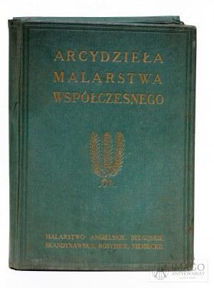 Teka ARCYDZIEŁA MALARSTWA WSPÓŁCZESNEGO wyd. J Mortkowicz 1924