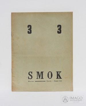 czasopismo Grupy Poetyckiej SMOK red. Roykiewicz 1924