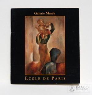 Katalog Galerie Marek ECOLE DE PARIS Kramsztyk, Zak, Menkes, Makowski