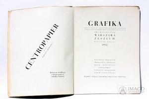 red. Siedlecki, Gronowski, Półtawski czasopismo GRAFIKA 1932