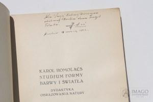 Karol Homolacs STUDJUM FORMY BARWY I ŚWIATŁA