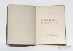Mieczysław Opałek STARE KSIĘGI STARE WINA