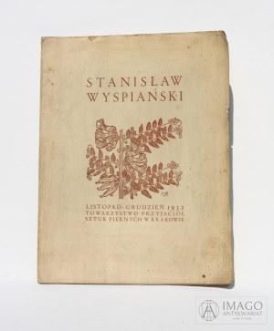 katalog STANISŁAW WYSPIAŃSKI 1932