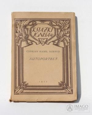 Cyprian Norwid AUTOPORTRET Unikat 1922 Książki Ignisa