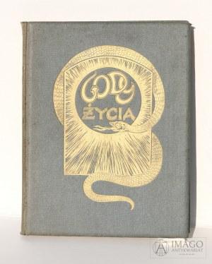Adolf Dygasiński GODY ŻYCIA ilustracje Antoni Gawiński 1910 secesja