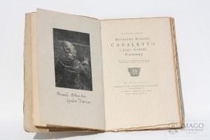 Tymoteusz Sawicki Bernardo Belotto CANALETTO i jego widoki Warszawy ilustracje