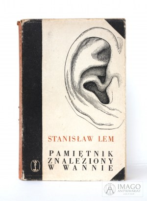 Stanisław Lem PAMIETNIK ZNALEZIONY W WANNIE il. D. Mróz, wyd. 1