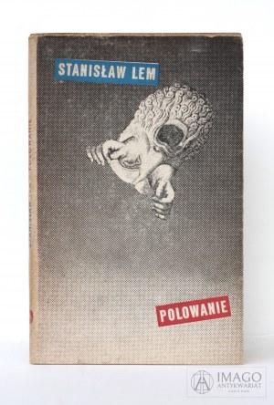 Stanisław Lem POLOWANIE projekt Daniel Mróz wydanie pierwsze