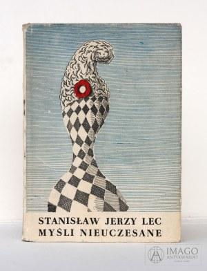Stanisław Jerzy Lec MYŚLI NIEUCZESANE ilustracje Daniel Mróz