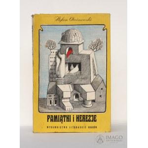 Stefan Otwinowski PAMIĄTKI I HEREZJE ilustracje Daniel Mróz