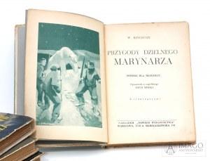 W, Kingston PRZYGODY DZIELNEGO MARYNARZA il. Krajewski LeVitt [c.1933]