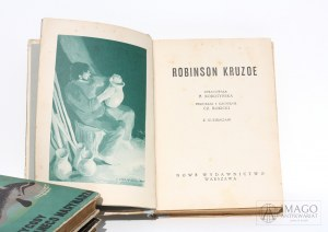 opr. E. Korotyńska ROBINSON KRUZOE [c.1933] il. J. Krajewski LeVitt
