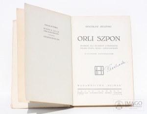 Bolesław Zieliński ORLI SZPON [1932] oprawa wydawnicza