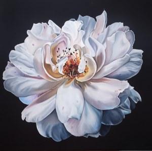 Oksana Vinnichenko (ur. 1994), Biała róża, 2021