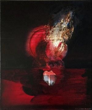 Magdalena Daniec (ur. 1974), Płonące Lunule, 2021
