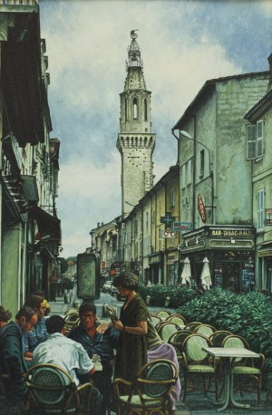 Andrzej Sadowski, Avignon - poranna kawa, 1997
