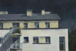 Aneta Fausek-Kaczanowska, Za oknem, 2018