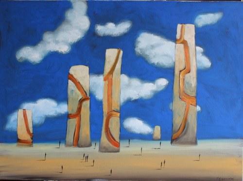 Filip Łoziński (ur. 1986), Obeliski, 2021